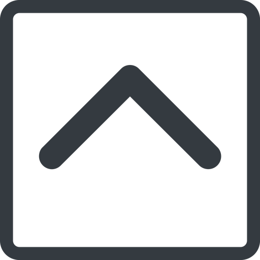 chevron-solid line, up, normal, square, arrow, direction, chevron, chevron-solid free icon 512x512 512x512px