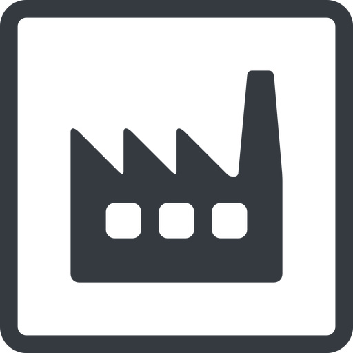 factory-window line, normal, square, factory, industry, window, factory-window free icon 512x512 512x512px