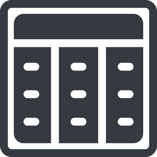spreadsheet-solid line, up, normal, square, cell, table, data, grid, row, columns, spreadsheet, spreadsheet-solid free icon 512x512 512x512px