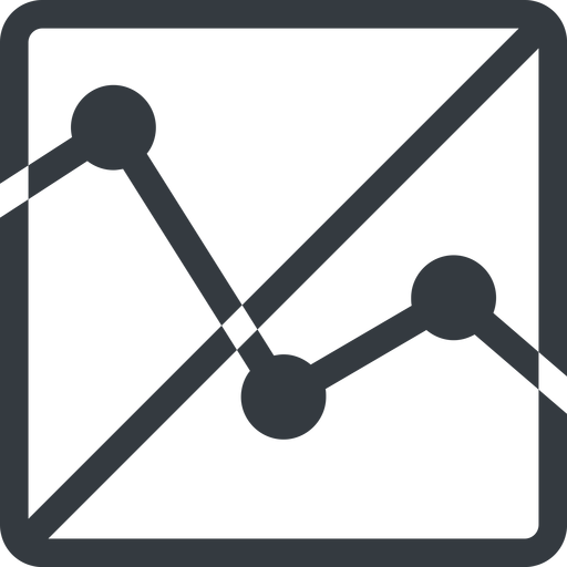 analytics line, up, normal, square, horizontal, mirror, graph, analytics, chart, prohibited free icon 512x512 512x512px