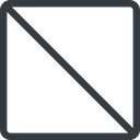 square line, normal, square, prohibited free icon 128x128 128x128px