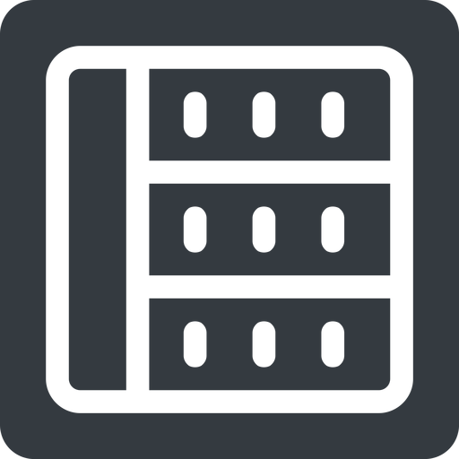spreadsheet left, normal, solid, square, cell, table, data, grid, row, columns, spreadsheet free icon 512x512 512x512px