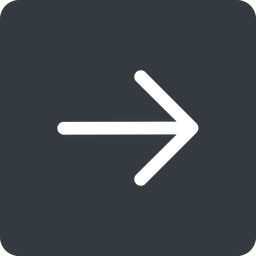 arrow-simple right, solid, square, arrow, direction, arrow-simple free icon 256x256 256x256px