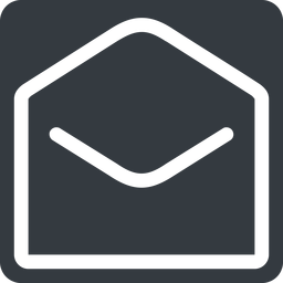 open-envelope normal, solid, square, envelope, mail, message, email, contact, open, read, open-envelope free icon 256x256 256x256px