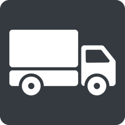 truck-solid normal, solid, square, truck, delivery, van, lorry, truck-solid free icon 256x256 256x256px