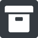 archive-solid normal, solid, square, archive, back-up, archive-solid free icon 128x128 128x128px