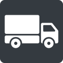 truck-solid normal, solid, square, truck, delivery, van, lorry, truck-solid free icon 128x128 128x128px