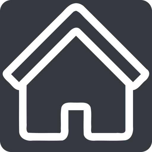 home normal, solid, square, home, house free icon 512x512 512x512px