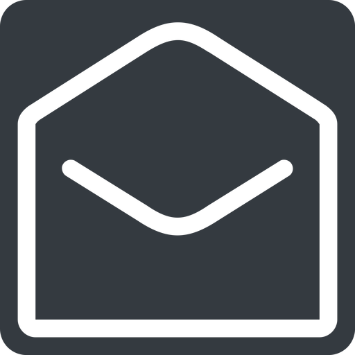 open-envelope normal, solid, square, envelope, mail, message, email, contact, open, read, open-envelope free icon 512x512 512x512px