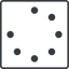 spinner-thin line, left, square, spinner, spin, wait, load, loading, spinner-thin free icon 64x64 64x64px