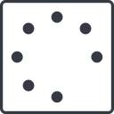 spinner-thin line, right, square, spinner, spin, wait, load, loading, spinner-thin free icon 128x128 128x128px