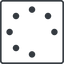 spinner-thin line, right, square, spinner, spin, wait, load, loading, spinner-thin free icon 64x64 64x64px