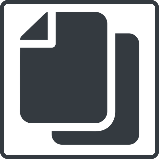 copy-solid thin, line, up, solid, square, horizontal, mirror, copy, copy-solid, files free icon 512x512 512x512px