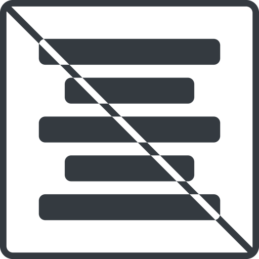 center-align-solid thin, line, solid, square, prohibited, text, align, alignment, editor, center, center-align, center-align-solid, align-center free icon 512x512 512x512px