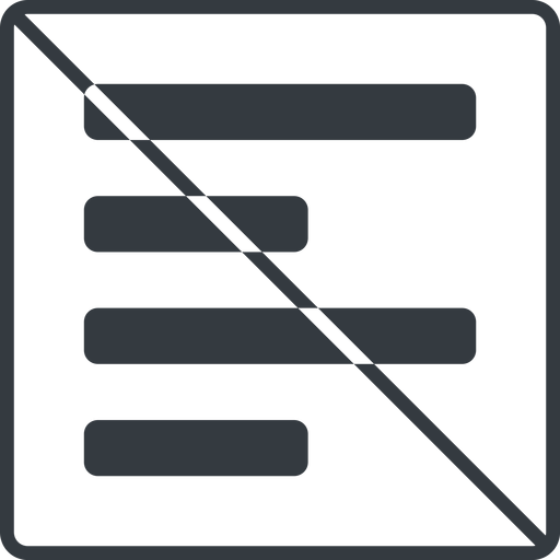 left-align-alt-solid thin, line, up, left, solid, square, prohibited, text, align, left-align, alignment, editor, align-left, align-left-alt, left-align-alt, left-align-alt-solid free icon 512x512 512x512px