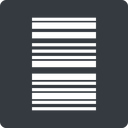 barcode-thin thin, left, solid, square, barcode, barcode-thin free icon 128x128 128x128px