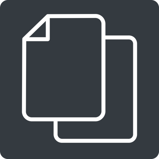 copy-thin up, solid, square, horizontal, mirror, copy, copy-thin, files free icon 512x512 512x512px