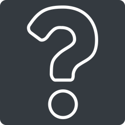 question-mark-alt-thin thin, solid, square, question, mark, question-mark, faq, help, question-mark-alt-thin, question-mark-alt free icon 256x256 256x256px