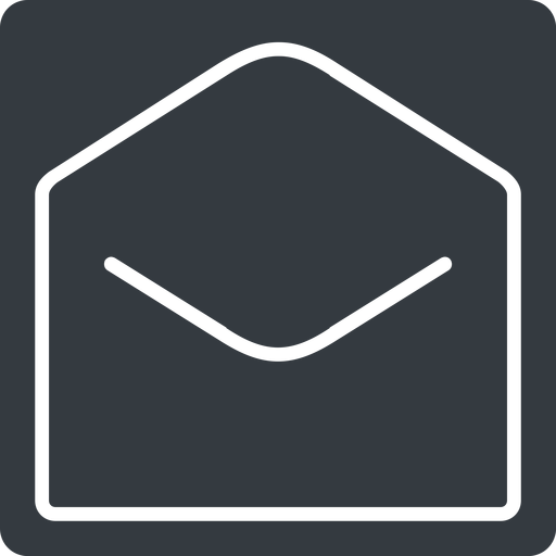 open-envelope-thin thin, solid, square, envelope, mail, message, email, contact, open, read, open-envelope, open-envelope-thin free icon 512x512 512x512px