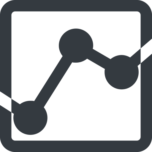 analytics-wide line, down, wide, square, graph, analytics, chart, analytics-wide free icon 512x512 512x512px