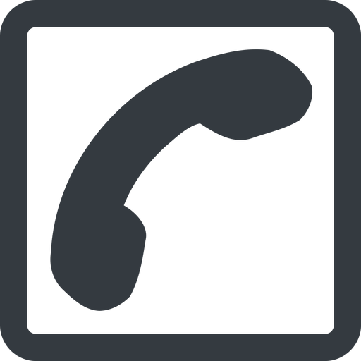 phone-solid line, down, wide, square, phone, call, dial, number, phone-solid, telephone free icon 512x512 512x512px