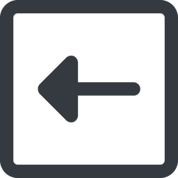 arrow-solid line, left, wide, square, arrow, arrow-solid free icon 256x256 256x256px