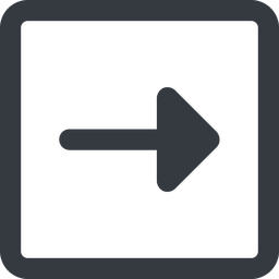 arrow-solid line, right, wide, square, arrow, arrow-solid free icon 256x256 256x256px