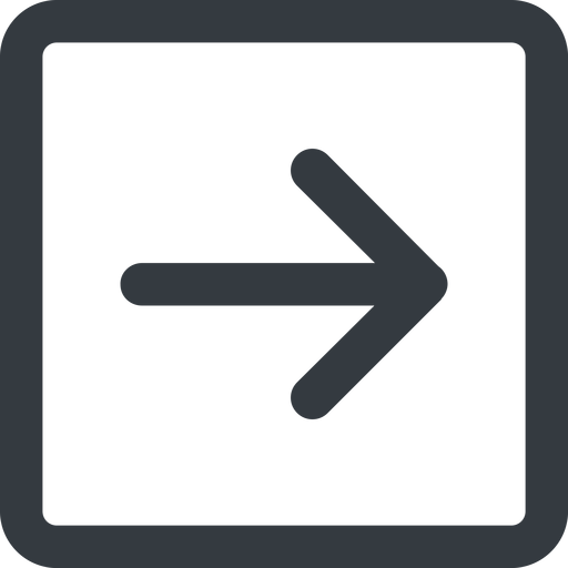 arrow-simple-wide line, right, square, arrow, direction, arrow-simple-wide free icon 512x512 512x512px