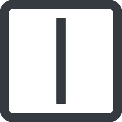minus-wide line, right, wide, square, minus, remove, sub, substract, collapse, minus-wide, -, less free icon 512x512 512x512px