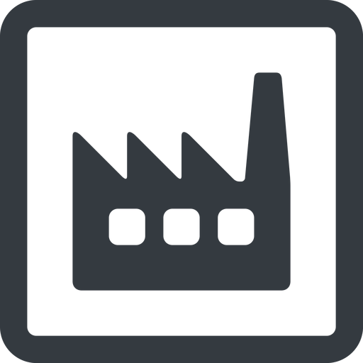 factory-window line, wide, square, factory, industry, window, factory-window free icon 512x512 512x512px