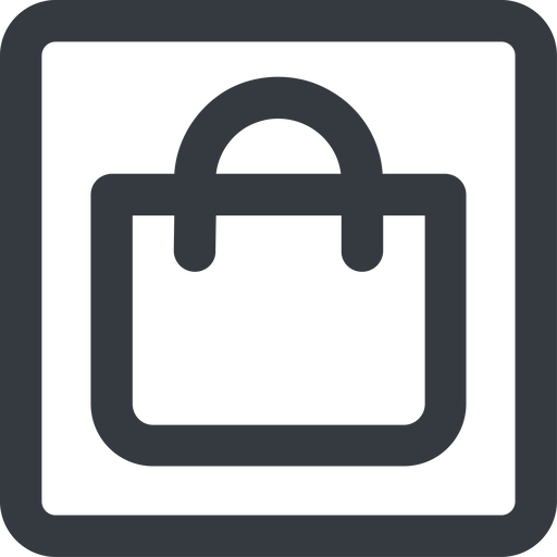 shopping-bag-wide line, wide, square, shopping, cart, market, handbag, bag, bags, shopping-bag, shopping-bag-wide free icon 512x512 512x512px