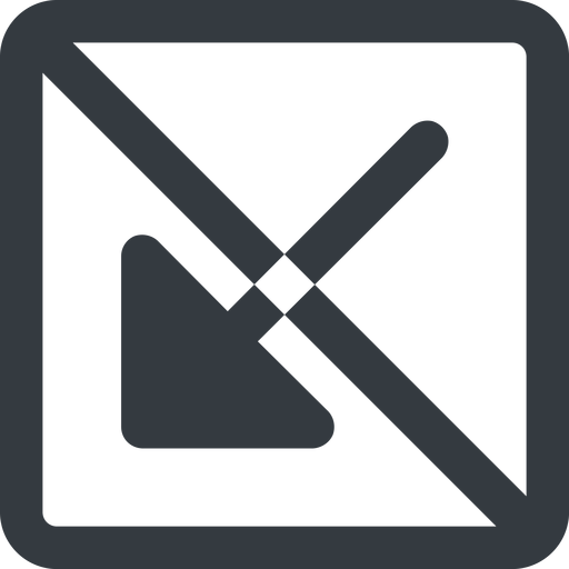 arrow-corner-solid line, down, wide, square, arrow, prohibited, corner, arrow-corner-solid free icon 512x512 512x512px