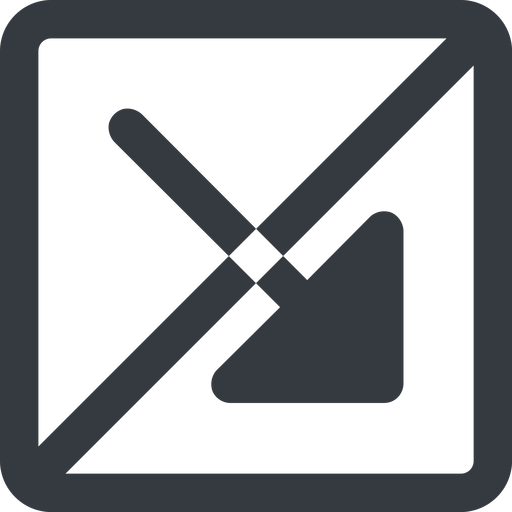 arrow-corner-solid line, right, wide, square, arrow, prohibited, corner, arrow-corner-solid free icon 512x512 512x512px