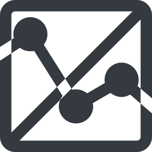 analytics-wide line, up, wide, square, horizontal, mirror, graph, analytics, chart, prohibited, analytics-wide free icon 512x512 512x512px