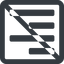 right-align-alt-solid line, up, right, wide, solid, square, prohibited, text, align, alignment, editor, right-align, align-right, align-right-alt, right-align-alt, right-align-alt-solid free icon 64x64 64x64px