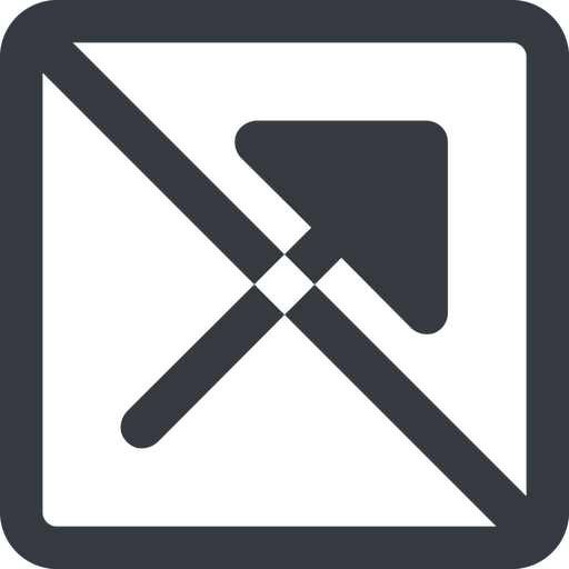 arrow-corner-solid line, up, wide, square, arrow, prohibited, corner, arrow-corner-solid free icon 512x512 512x512px