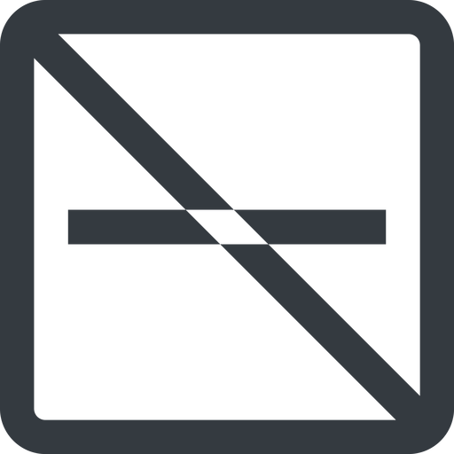 minus-wide line, up, wide, square, minus, remove, sub, substract, prohibited, collapse, minus-wide, -, less free icon 512x512 512x512px
