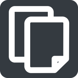 copy-wide down, wide, solid, square, horizontal, mirror, large, copy, copy-wide, files free icon 256x256 256x256px