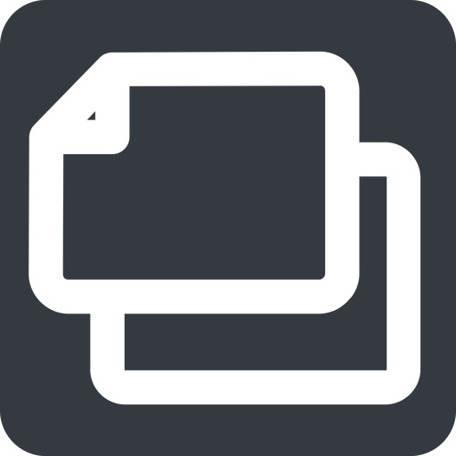copy-wide left, wide, solid, square, large, copy, copy-wide, files free icon 512x512 512x512px