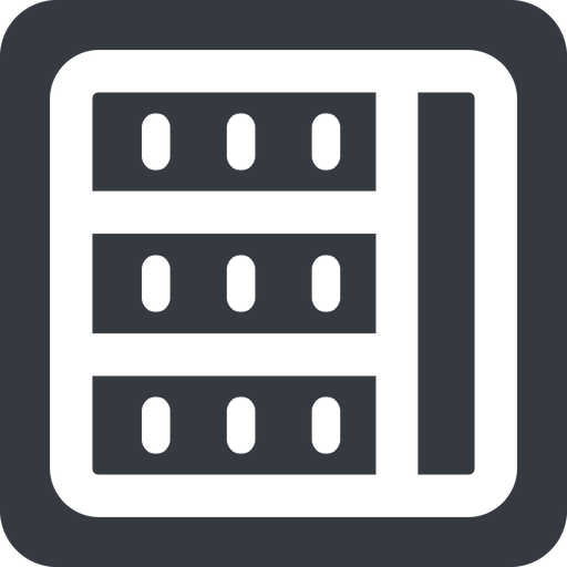 spreadsheet-wide right, wide, solid, square, cell, table, data, grid, row, columns, spreadsheet, spreadsheet-wide free icon 512x512 512x512px