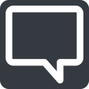 comment-square-wide wide, solid, square, horizontal, mirror, dots, message, chat, comment, speech, dialogue, blablabla, blabla, bubbles, comment-square-wide free icon 128x128 128x128px