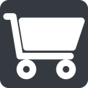 shopping-cart-solid wide, solid, square, horizontal, mirror, shopping, cart, shop, buy, trolley, shopping-cart-solid free icon 128x128 128x128px