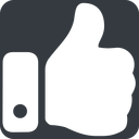 thumb-solid up, wide, solid, square, horizontal, mirror, rate, rating, thumb, like, dislike, thumbs, thump-up, thumb-down, thumb-solid free icon 128x128 128x128px