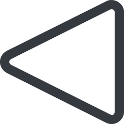 triangle triangle, line, left, wide free icon 256x256 256x256px