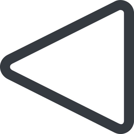 triangle triangle, line, left, wide free icon 512x512 512x512px