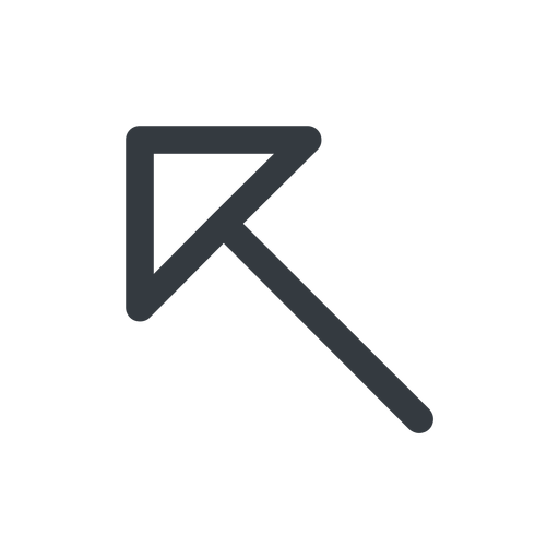arrow-corner line, left, arrow, link, url, href, corner, arrow-corner free icon 512x512 512x512px