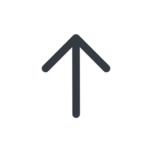 arrow-simple line, up, arrow, direction, arrow-simple free icon 512x512 512x512px