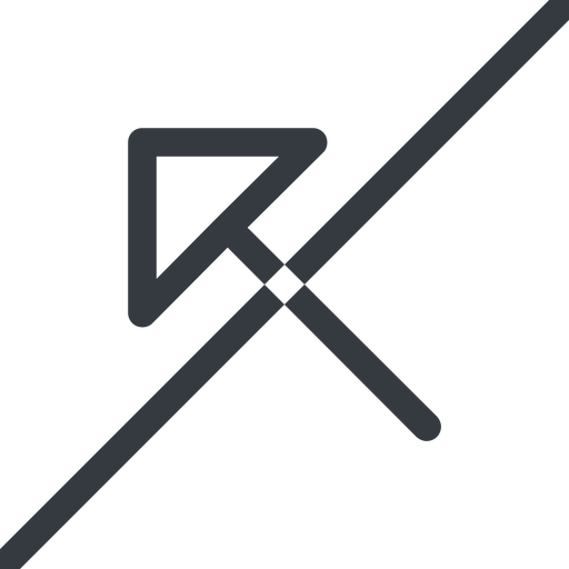 arrow-corner line, left, arrow, prohibited, link, url, href, corner, arrow-corner free icon 512x512 512x512px