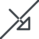 arrow-corner line, right, arrow, prohibited, link, url, href, corner, arrow-corner free icon 128x128 128x128px