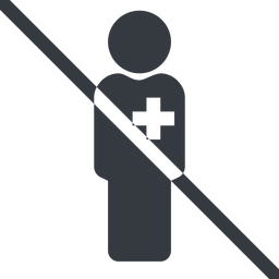male-nurse-solid line, normal, prohibited, nurse, medical, healthcare, health, male, medic, doctor, hospital, male-nurse, male-nurse-solid free icon 256x256 256x256px